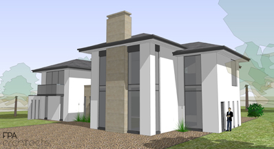 Planning Permission Gained For A New Lux-Modern House In Hertfordshire